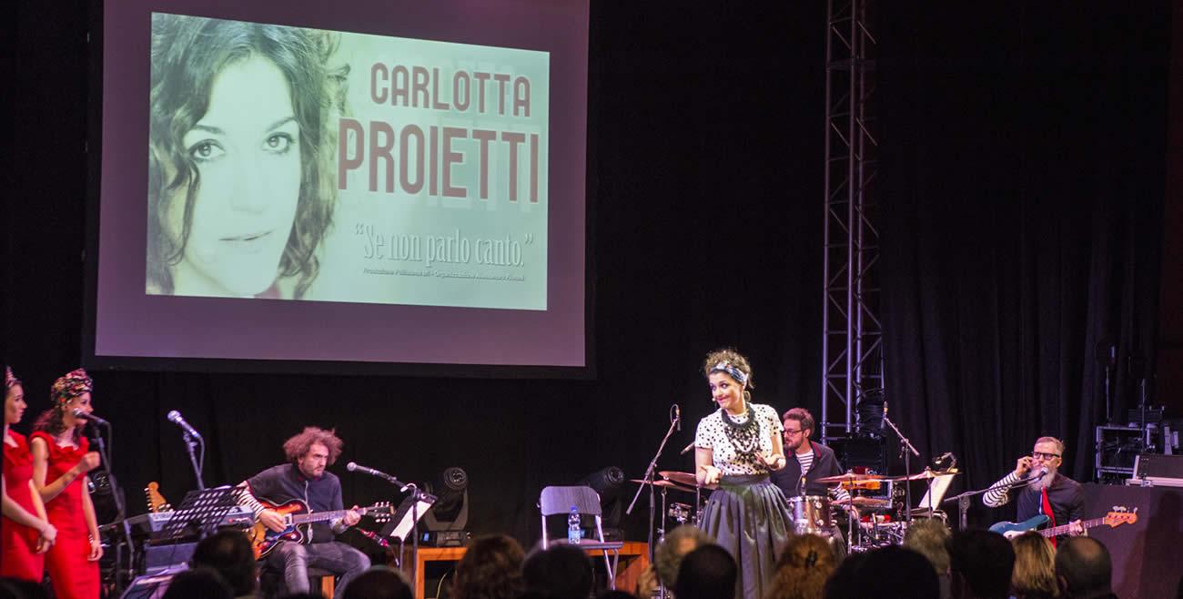 Carlotta Proietti concerto | Isabelle Caillaud Fashion Stylist